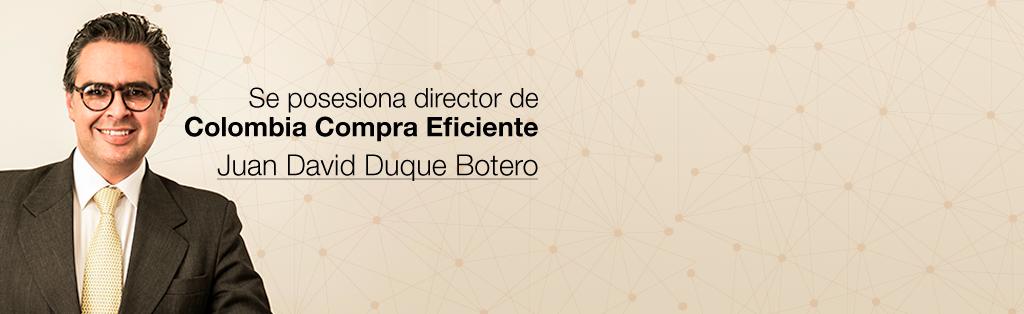 Nuevo director Colombia Compra Eficiente