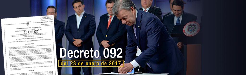 decreto 092