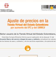 79d931061bde5 Ajuste de precios en la Tienda Virtual del Estado Colombiano